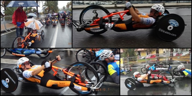 The last scoring race for the 2018 European Handbike Competition (EHC)