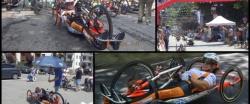 Race in Bardonecchia (Italy)