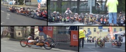 Carrera del European Handbike Circuit en Louny, República Checa