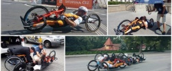 Circuito European Handbike - Louny en la Republica Checa.